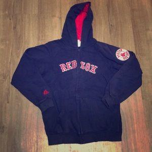 Boston Red Sox Hoodie Sweatshirt Zip Up